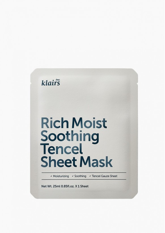 RICH MOIST SOOTHING SHEET MASK   KLAIRS