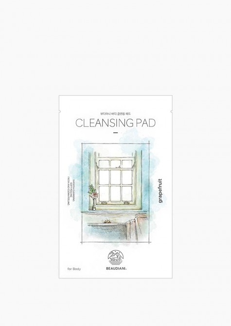Body cleansing pad